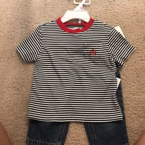 NWT Ralph Lauren baby boy outfit 9mo